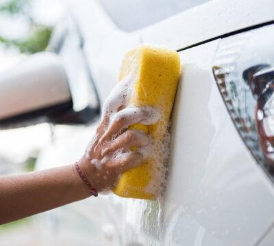 Jabón para limpiar el coche